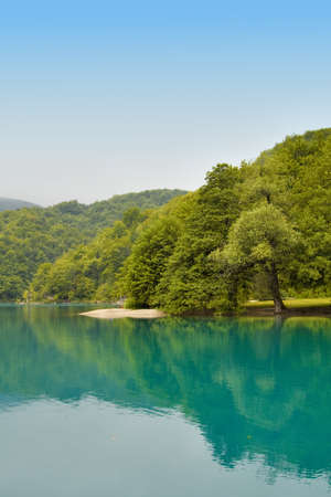 Landscape of a beautiful lake Stock Photo - 11076856