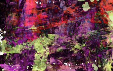 Grunge abstract textured collage photo