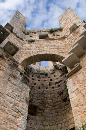 mediaval: Tower of a old mediaval castle