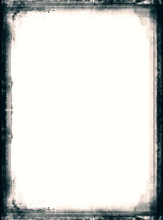 overlay: Computer designed highly detailed film frame with space for your text or image.Nice grunge element for your projects