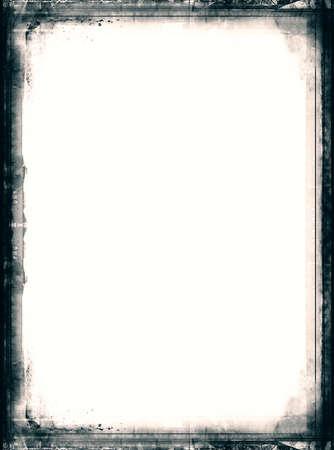 an overlay: Ordenador dise�ado fotograma de la pel�cula muy detallado con espacio para el texto o elemento image.Nice grunge para sus proyectos