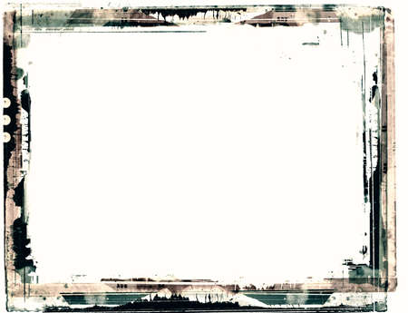 Computer designed highly detailed grunge frame  with space for your text or image. Great grunge layer for your projects. Stock Photo - 11120862