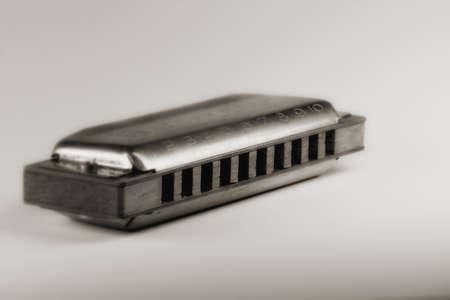 harmonica: Close up of harmonica