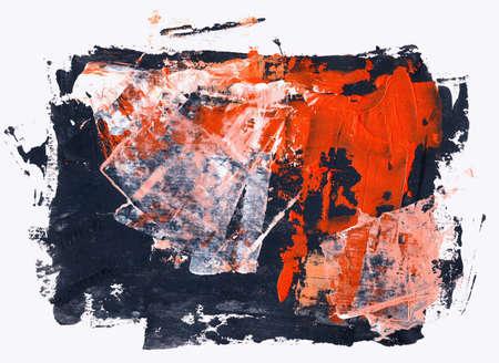 Mano acuarela abstracta pintados por mí. De fondo agradable para sus proyectos. Foto de archivo