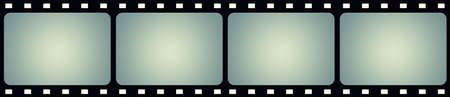 cinema strip: Film frame background with space for your text or image.