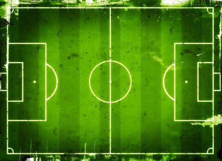 footy: Football (Soccer Field) illustration with  space for your text