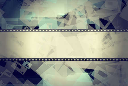 film frame: High detailed grunge film frame with space for your text or image.