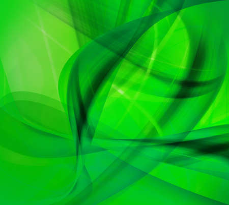 artistic designed: Computer designed modern green abstract style background with space for your text Stock Photo
