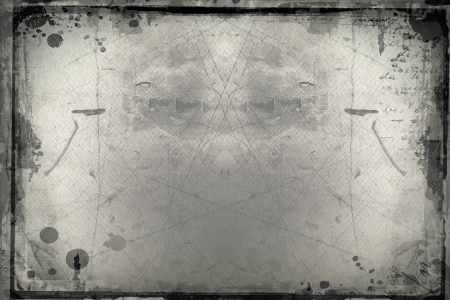 designed: Highly detailed grunge frame  with space for your text or image. Great grunge layer for your projects.