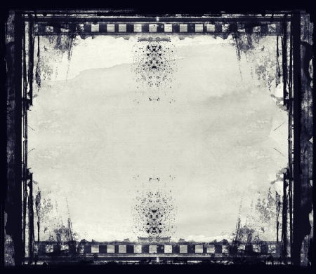 High detailed grunge film frame with space for your text or image. Stock Photo - 18744672