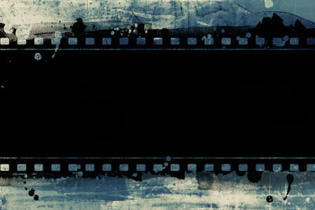 movie film: Computer designed highly detailed film frame with space for your text or image. Nice grunge element for your projects.