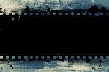 cinta pelicula: Ordenador dise�ado marco de pel�cula altamente detallado con espacio para el texto o la imagen. Niza grunge elemento para sus proyectos.