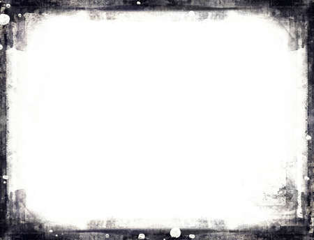 grunge layer: Highly detailed grunge frame  with space for your text or image. Great grunge layer for your projects.