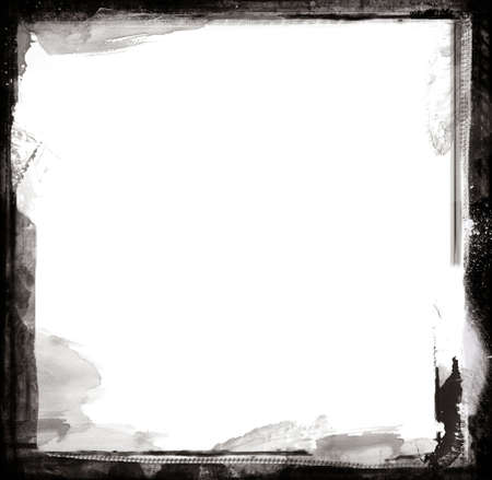 digital frame: Highly detailed grunge frame  with space for your text or image. Great grunge layer for your projects.