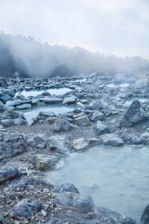 aerea: Photo of hot spring in Indonesian vulcano aerea