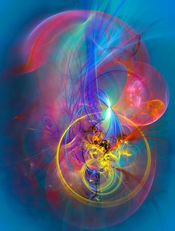 Diseño moderno fondo abstracto con espacio para el texto. Adecuado para proyectos espiritual, ciencia, música, arte y tecnología. Foto de archivo