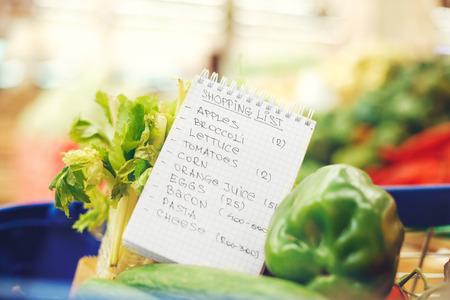 식료품 점 쇼핑 사람없는 건강한 라이프 스타일 스톡 콘텐츠 - 91873563