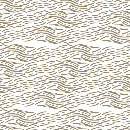 Seamless brown fur texture vector pattern