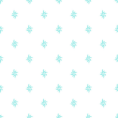 Simple delicate seamless vector pattern on white Ilustrace