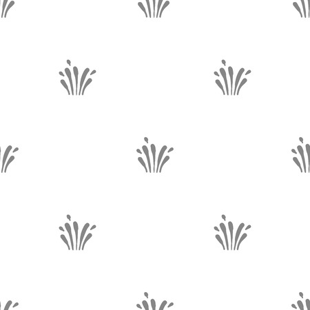 Simple grey element vector seamless pattern
