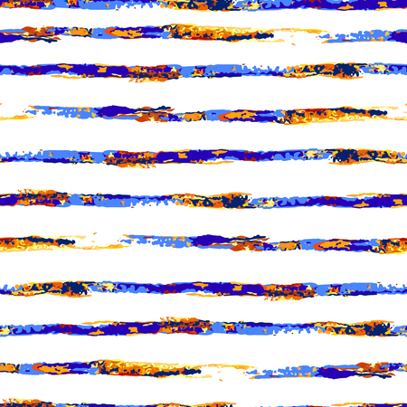 striated: colorful seamless striped pattern in watercolor style. Can be used for wallpaper, pattern fills, web page, surface textures, textile print, wrapping paper.