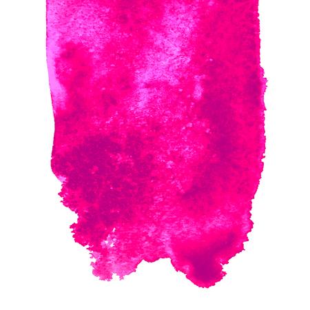 Vector Aquarellstelle backgraund, abstrakte gezeichnete Illustration der Beschaffenheit Hand