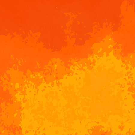 Orange watercolor texture pattern.