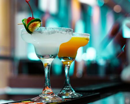 The Margarita cocktail is one of the most famous made with tequila