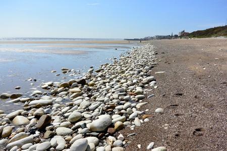 Beach at Bridlington UK photo