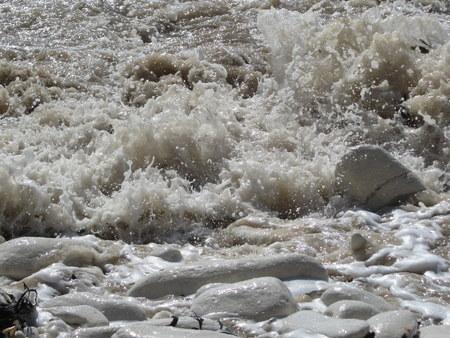 crashing: Small Waves Crashing