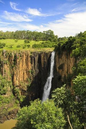 howick: Waterfall near Howick in South Africa
