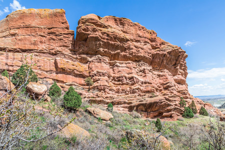 rock formation: Red Rock Formation, Denver, Colorado