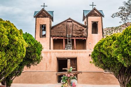 catholic chapel: The historical catholic chapel of Santuario de Nuestro Senor de Esquipulas, in Chimayo, New Mexico, was built In 1816