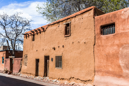 Oldest house in Santa Fe, New Mexico