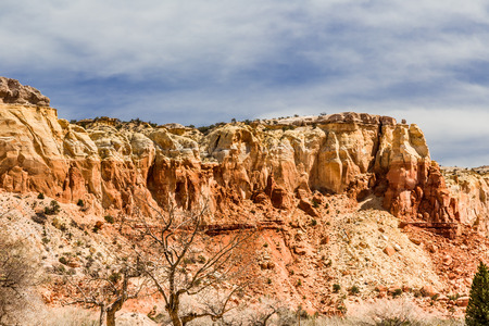 rock strata: Red Rock Formation, Abiquiu