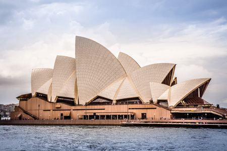 Sydney, Australia, March 14 2017: View from the water of the Sydney Opera House, UNESCO World Heritage Site. Editorial