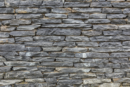Flint Stone Wall.