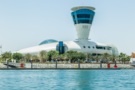 Abu Dhabi, United Arab Emirates, May 5, 2017: Cipriani Restaurant, Abu Dhabi, United Arab Emirates