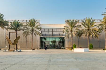 Manarat Al Saadiyat is a high-tech center for interactive, local cultural displays & international exhibitions, plus theater.