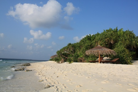 Tropical island photo
