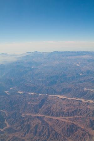 sinai desert: Sinai desert and skies