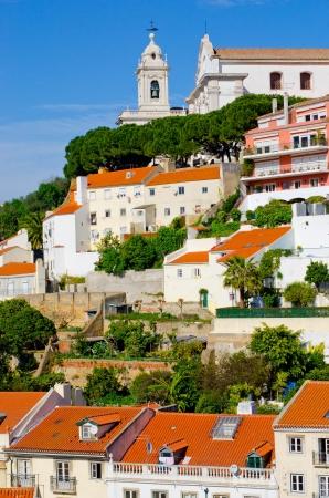 tage: Lisbon old city Stock Photo