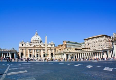 San Pietro square - Roma, Vatican, Italy, Saint Peter - Rome