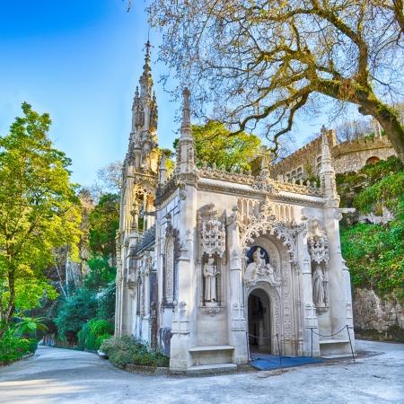 Quinta Da Regaleira Chapel. Sintra. Portugal Editorial