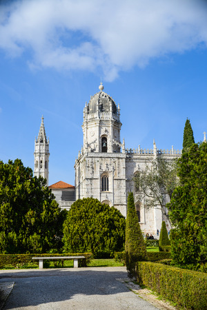 Monastery of Jeronimos in Lisbon