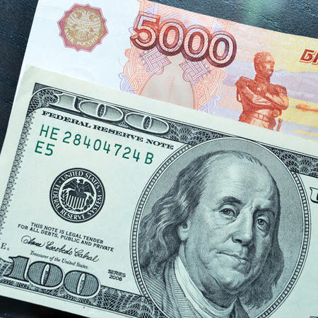 depend: U.S. dollars and Russian rubles