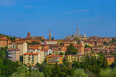 Siena. Italy. Basilica Cateriniana San Domenico