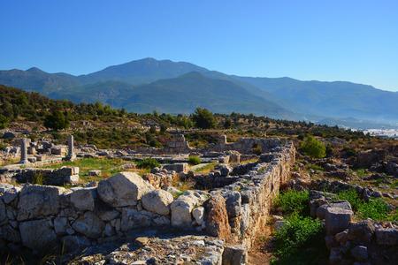 Xanthos ruins. Turkey.