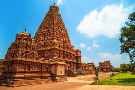 Brihadeeswara Temple in Thanjavur, Tamil Nadu, India. One of the world heritage sites UNESCO.