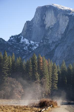 dome: Half Dome, Yosemite Stock Photo